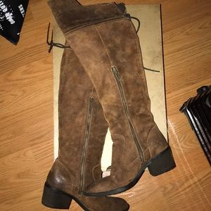 Born over the knee boots